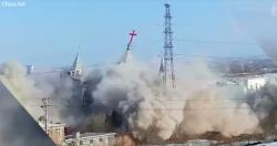 Trung Quốc đã phá hủy nhà thờ lớn của Kitô giáo, dấy lên nỗi sợ hãi khủng bố tôn giáo